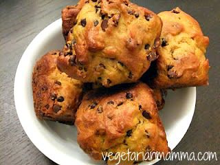 Pumpkin Chocolate Chip Muffins – #glutenfree