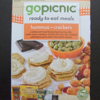 Review: GO Picnic – A Gluten Free Vegan Option
