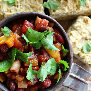 Sweet Vegetarian Chili