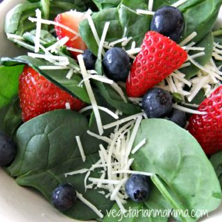 Red White and Blue Salad – gluten free