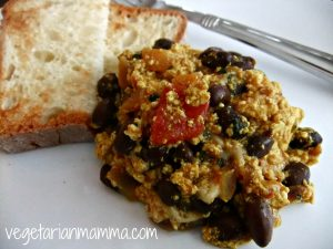 Tofu Scramble – Giving some flavor to your breakfast routine