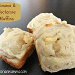 Banana Nectarine Muffins – #glutenfree