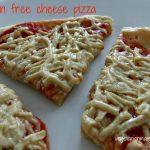 Classic Cheese Pizza – #glutenfree #vegan