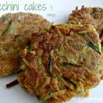 Zucchini Cakes – 3 ways – #glutenfree