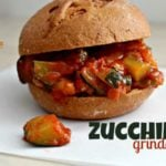Zucchini Grinder Sandwich – a perfect use for those garden zucchinis