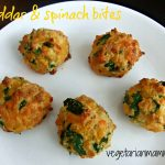 Cheddar and Spinach Bites – the perfect appetizer or snack