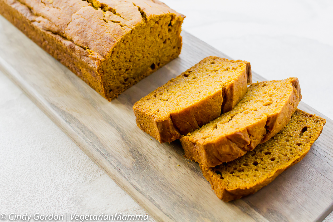 Gluten Free Pumpkin Bread is easy and delicious.
