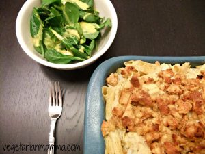 Cauliflower Pasta Bake – #glutenfree #vegan