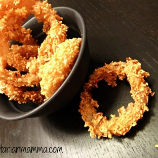 Homemade Crispy Onion Rings – #glutenfree #vegan