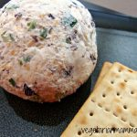 Vegan Cheeseball: A Gluten Free Snack with Olives