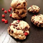 Chocolate Chip Pomegrante Cookies – #glutenfree #vegan