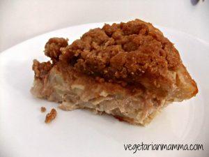 Sour Cream Apple Pie – #glutenfree #dairyfree