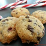 Candy Cane Chocolate Chip Cookies – #glutenfree #vegan