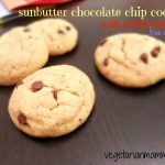 Sunbutter Chocolate Chip Cookies #glutenfree