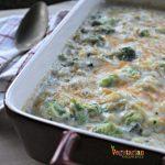 The BEST Gluten Free Cheesy Broccoli Casserole