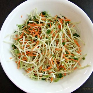Asian Inspired Slaw – #glutenfree