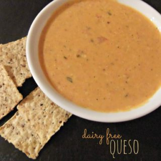 Dairy Free Queso Dip – #glutenfree #dairyfree #awesome