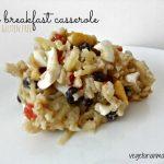 Easy Breakfast Casserole – #glutenfree #dairyfree