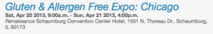I am an Official #GFAFEXPO Blogger for Chicago 2013!