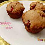 Strawberry Corn Muffins – #glutenfree #dairyfree