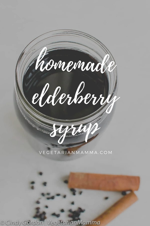 This homemade elderberry syrup is so simple to make, anyone can do it! Homemade never tasted so good! #elderberry #homemade #DIY