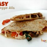 Easy Veggie Dilla – #glutenfree #vegan
