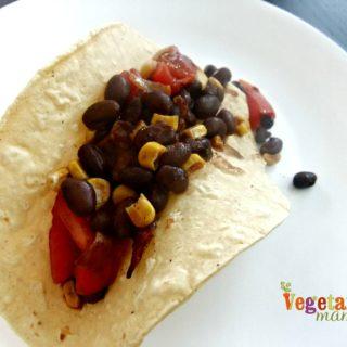 Mexican Black Bean Dip Tortillas – #glutenfree #vegan