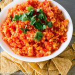Red Pepper Mango Salsa – Fresh and Delicious