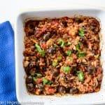 Wild Rice Mushroom Casserole – a hearty side dish