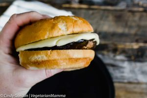 Portobello Pizza Burgers