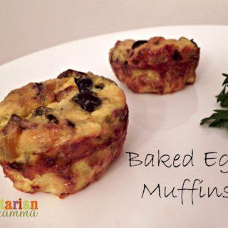 Baked Egg Muffins – #glutenfree
