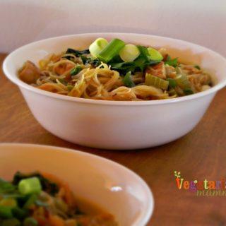 Singapore Noodles – #glutenfree #vegan