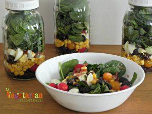 Southwest Salad in a Jar – #glutenfree