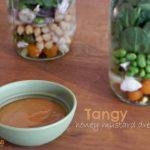 Tangy Honey Mustard Salad Dressing – #glutenfree #nutfree @sunbutter4life