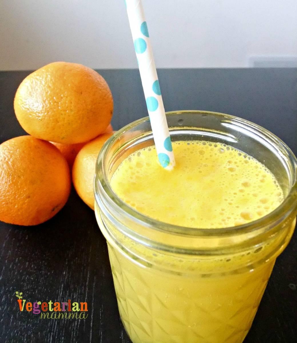 Clementine Sparkler vegetarianmamma.com