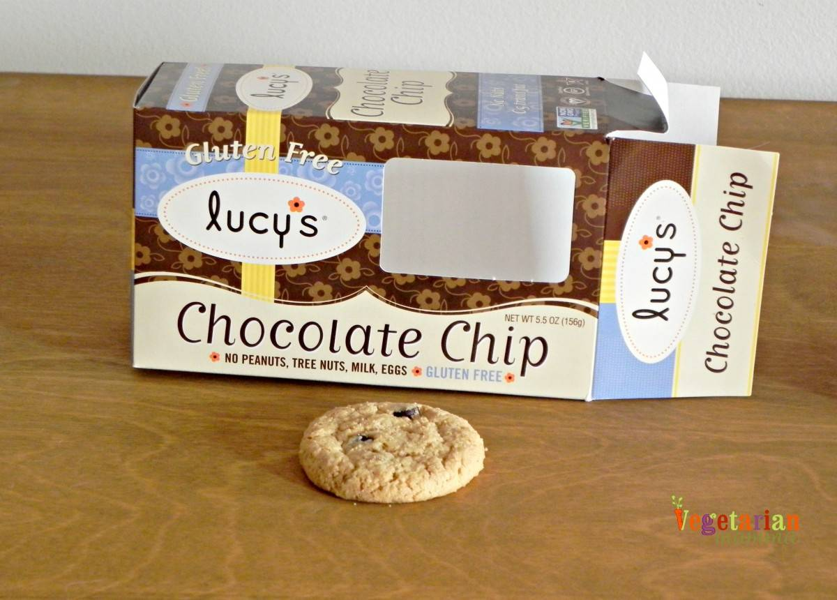 Lucys Chocolate Chip Cookie Review vegetarianmamma.com