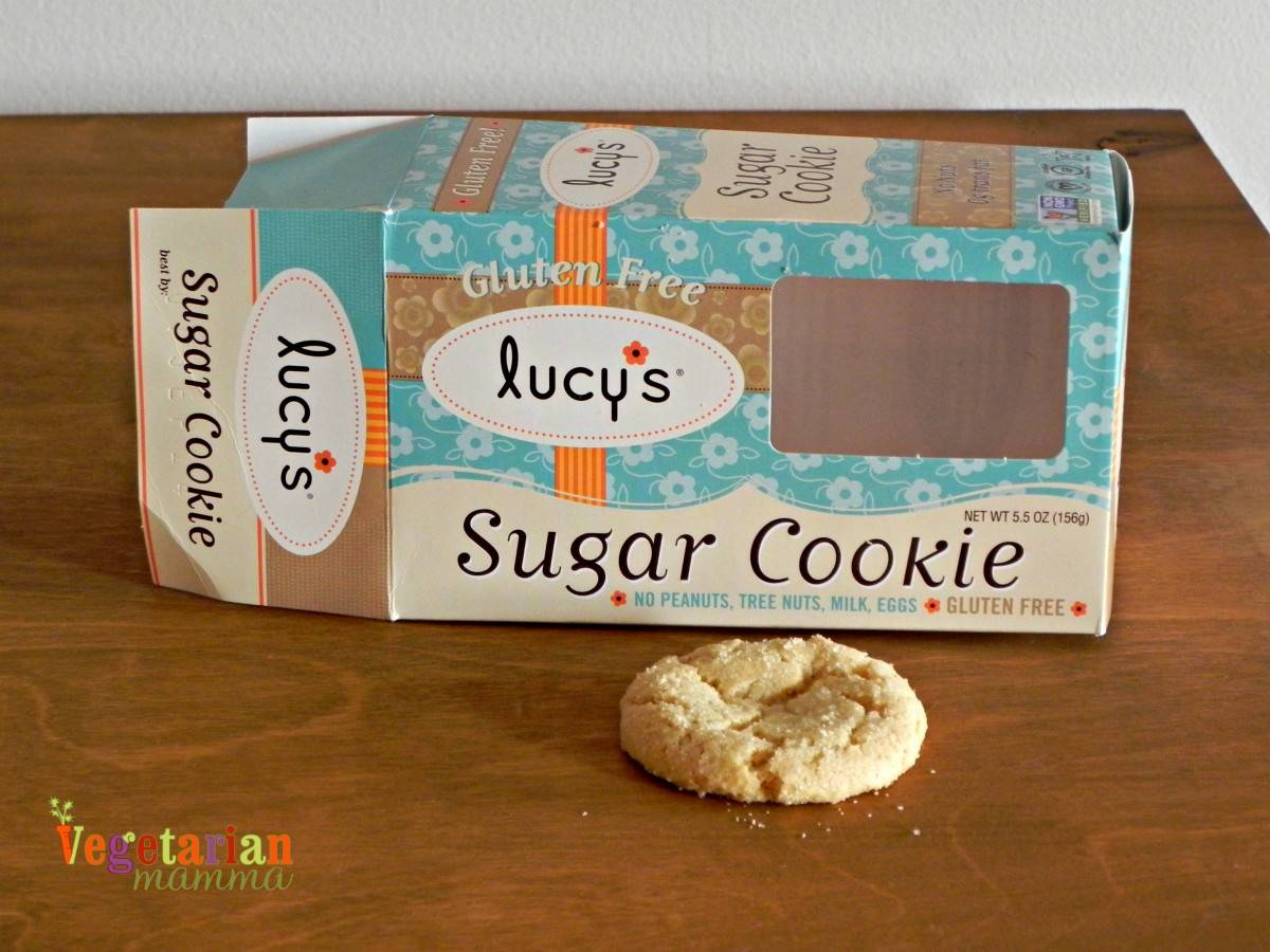 Lucy's Sugar cookies review vegetarianmamma.com