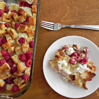 Raspberry Breakfast Casserole – #glutenfree #dairyfree