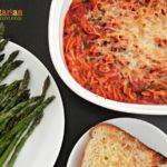 Easy Baked Spaghetti – #glutenfree