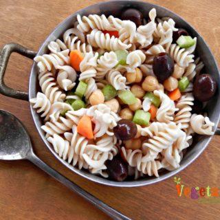Summer Pasta Salad – #glutenfree #vegan