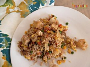 Tofu Fried Rice – A delicious fun twist on traditional fried rice