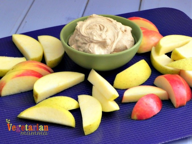Fruit Dip #glutenfree #nutfree @vegetarianmamma.com