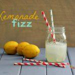 Lemonade Fizz ~ Adult Beverage ~ Perfect for the start of summer!