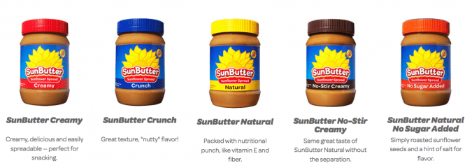 Sunbutter giveaway @vegetarianmamma.com
