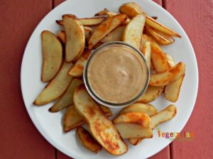 BBQ Ranch Sauce @vegetarianmamma.com #glutenfree #vegan #nutfree