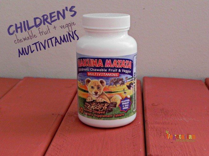 Gluten Free Vitamins @vegetarianmamma.com