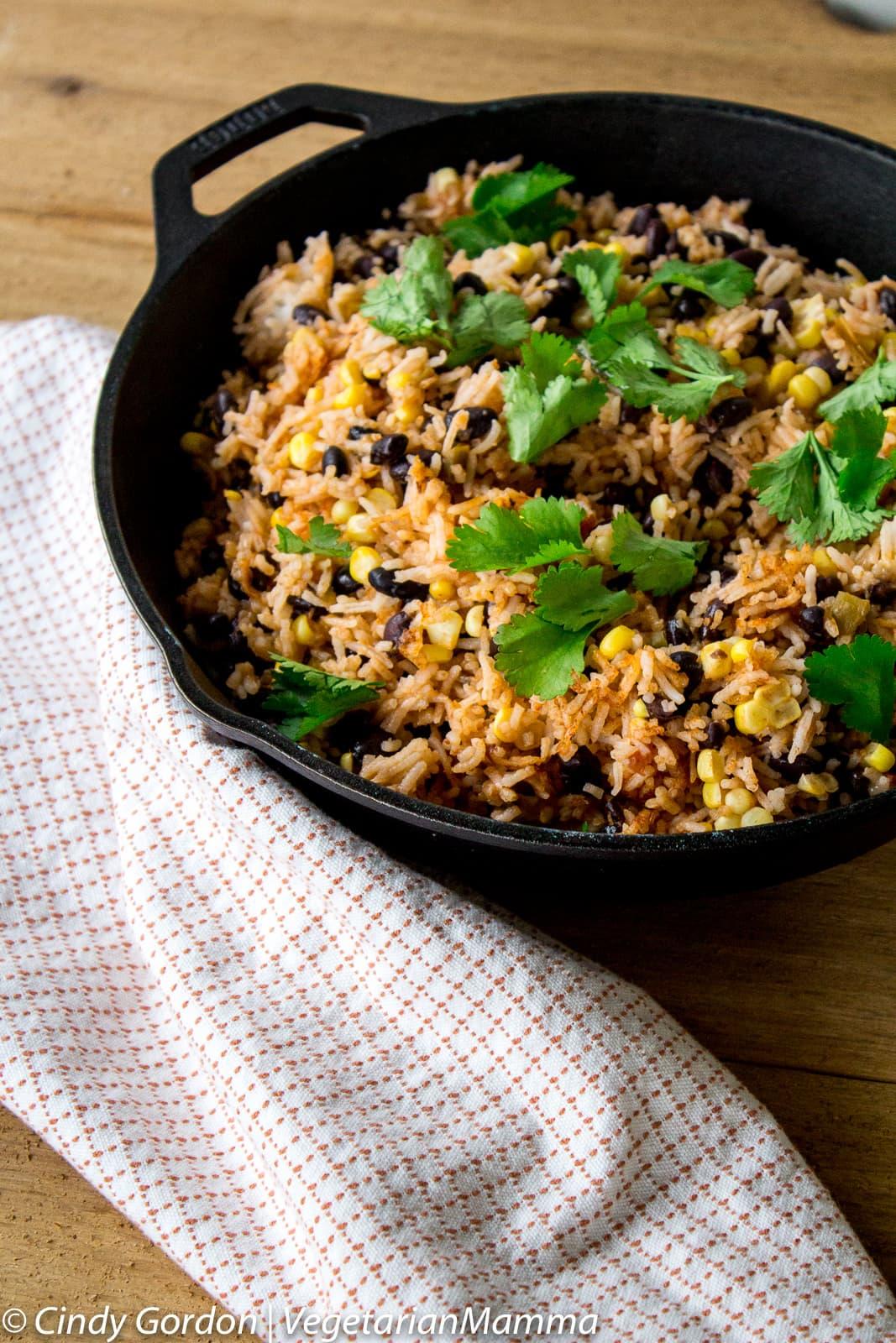 Southwest Skillet - Vegetarian and Gluten Free