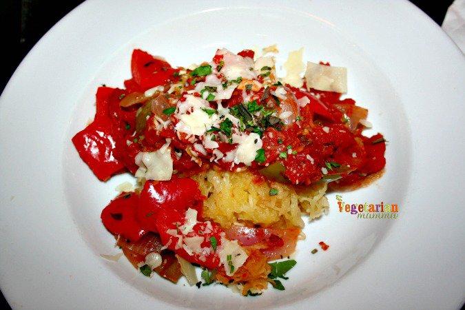 Local Roots Spaghetti Squash #glutenfree #ohio @vegetarianmamma.com