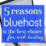5 Reasons Bluehost is the best choice for web hosting!