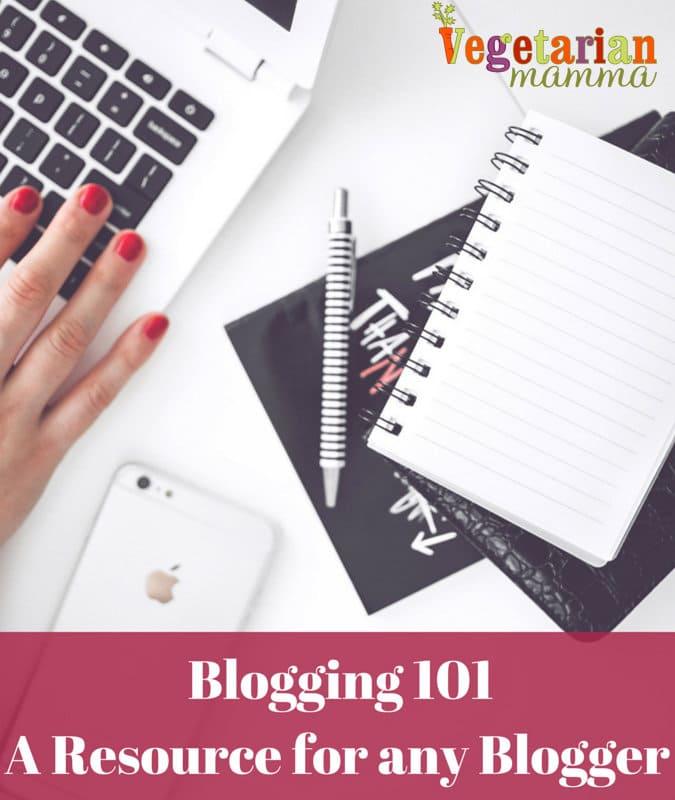 Blogging 101 - Landing Page